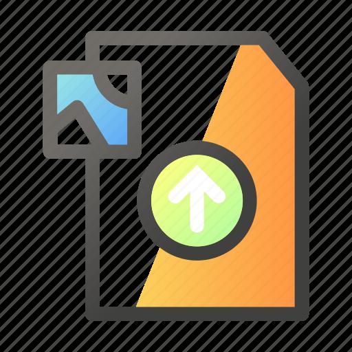 Data, document, file management, image, upload icon - Download on Iconfinder