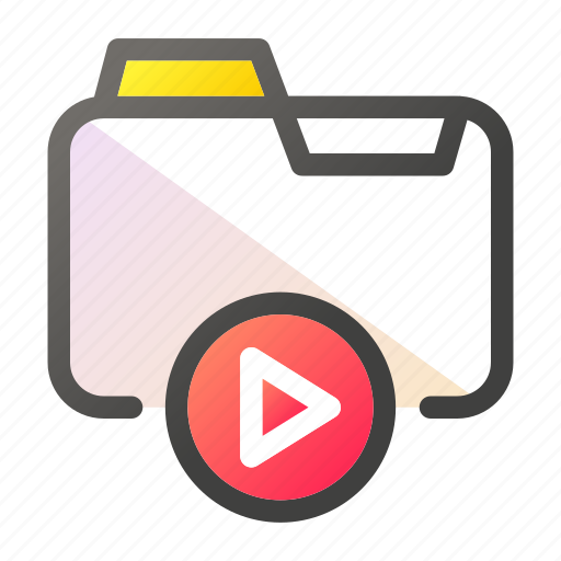 Data, document, file management, folder, video icon - Download on Iconfinder