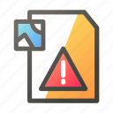 alert, data, document, file management, image icon