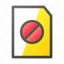 block, data, document, file, file management icon