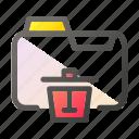 data, delete, document, file management, folder