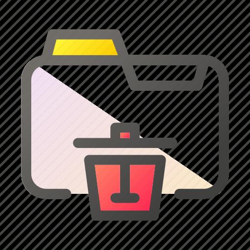 Data, delete, document, file management, folder icon - Download on Iconfinder