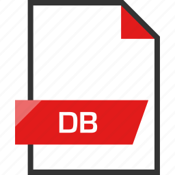db, document, extension, file, name icon