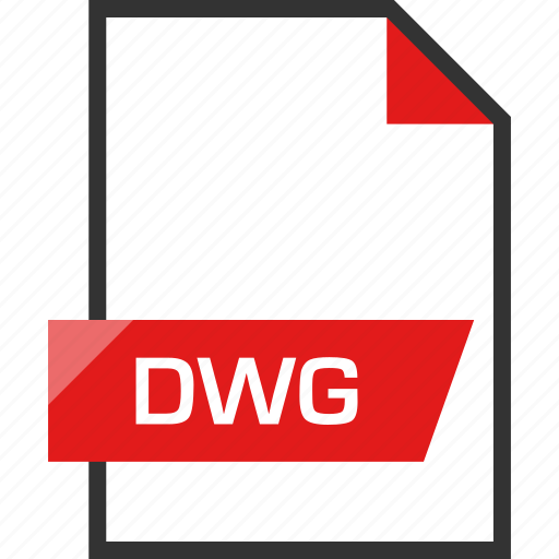 document, dwg, extension, file, name icon