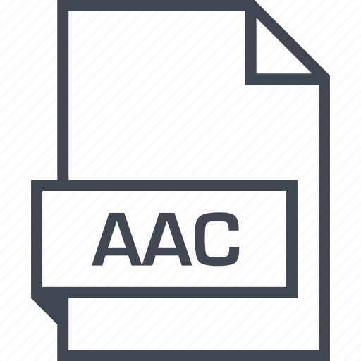 Aac, extension, file, name icon - Download on Iconfinder