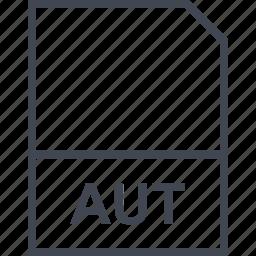 aut, extension, file icon