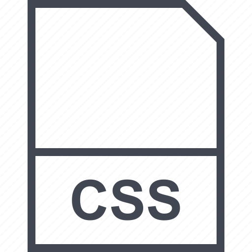 css, extension, file icon