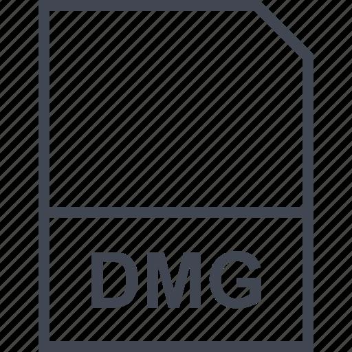 dmg, extension, file icon