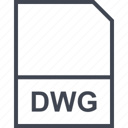 dwg, extension, file icon