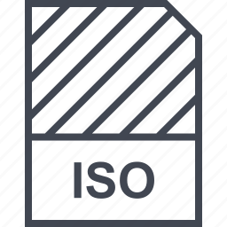 document, file, iso, name icon