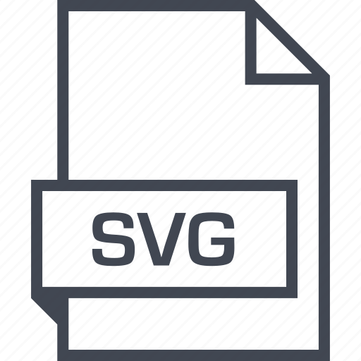 extension, file, name, svg file icon
