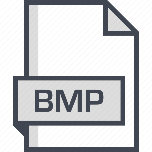 bmp, document, extension, name icon