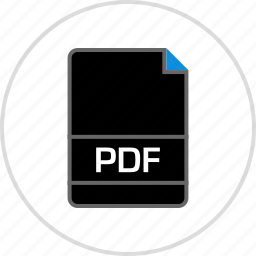 extension, file, name, pdf icon