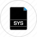 extension, file, name, sys icon