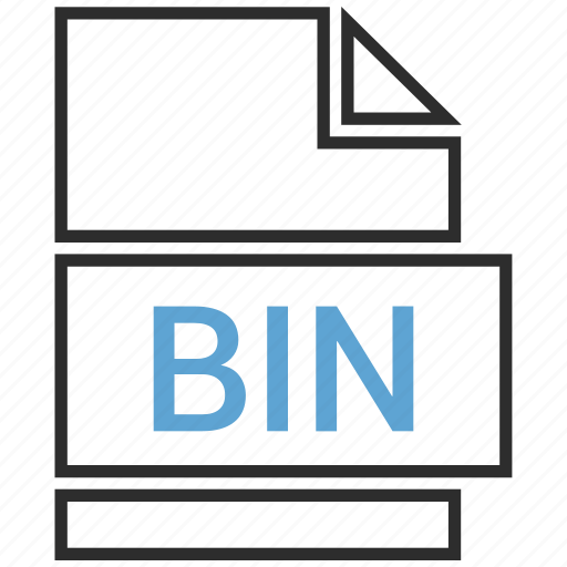 bin, file, name icon