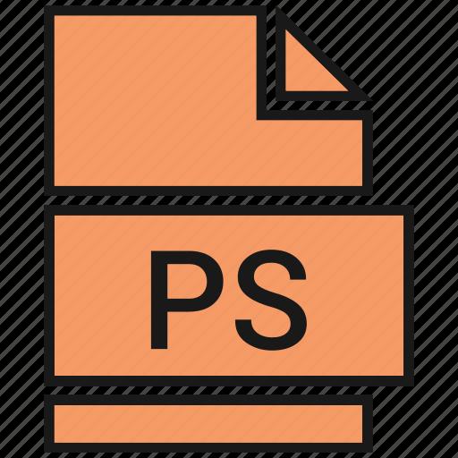 postscript, ps icon