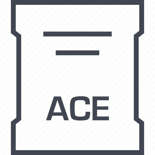 ace, page, sleek icon