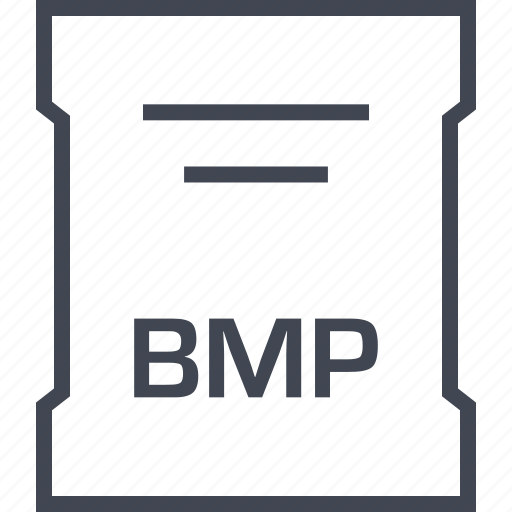 bmp, page, sleek icon