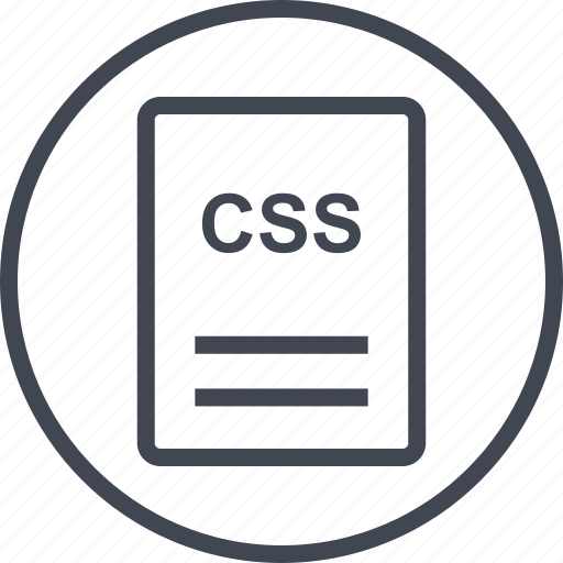 css, extension, file, page icon