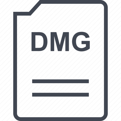 dmg, doc, document, page icon