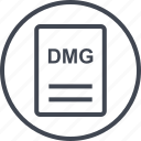 dmg, extension, file, page icon
