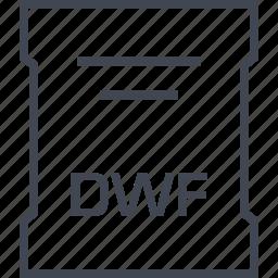 dwf, page, sleek icon