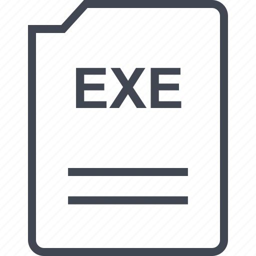 doc, document, exe, page icon