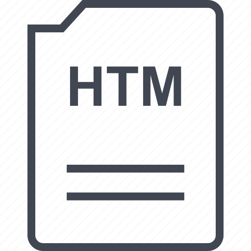doc, document, htm, page icon