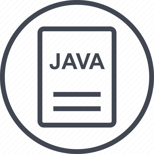 extension, file, java, page icon