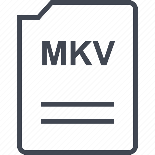 file, mkv, name, page icon