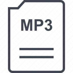 file, mp3, name, page icon