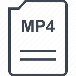 doc, document, mp4, page icon
