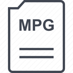 doc, document, mpg, page icon