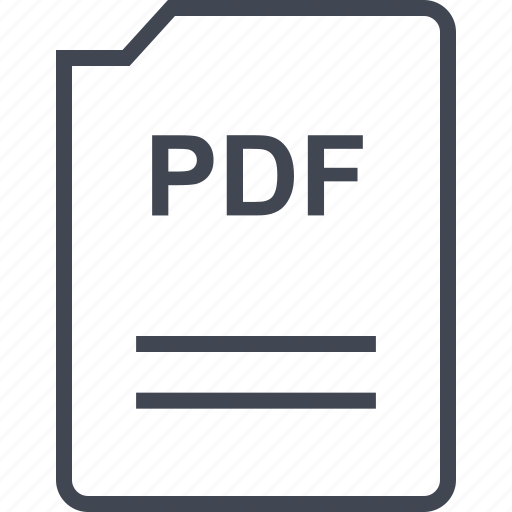 doc, document, page, pdf icon