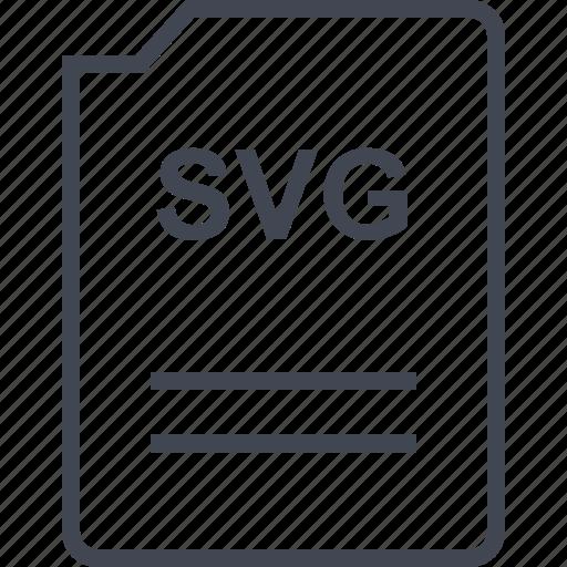 file, name, page, svg illustrator icon