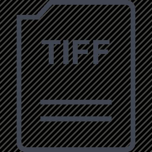 file, name, page, tiff icon