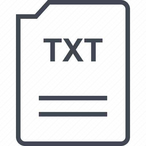 doc, document, page, txt icon