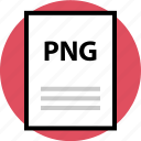 file, name, page, png file icon