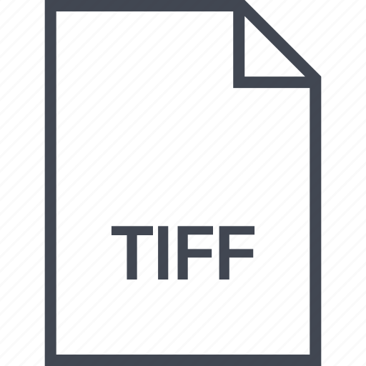 extension, file, name, tiff icon