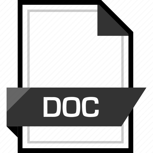 Doc, document, extension, file icon - Download on Iconfinder