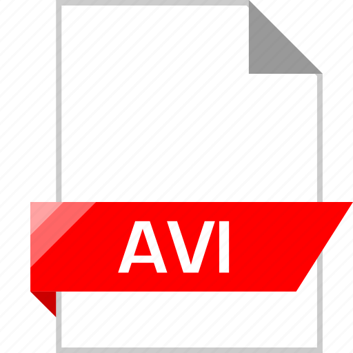avi, ext, page icon