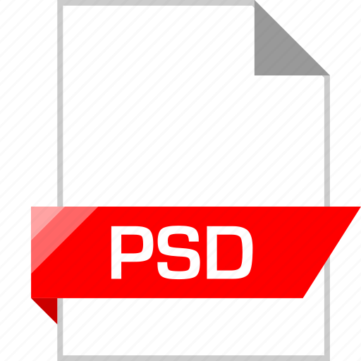 ext, page, photoshop, psd icon