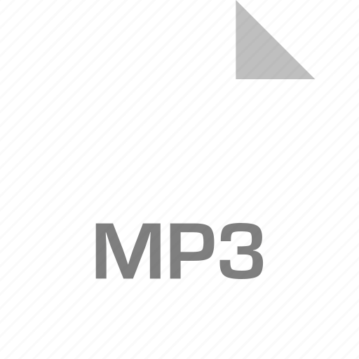 extension, file, mp3, page icon