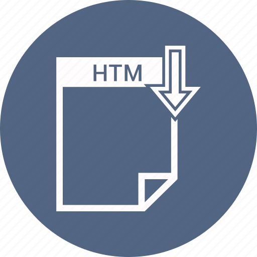 file, htm icon