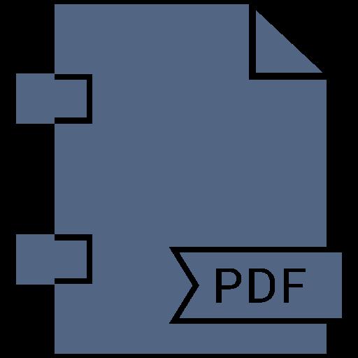 document, extension, file, pdf, type icon