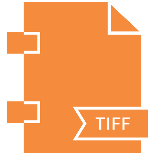 document, extension, file, tiff, type icon