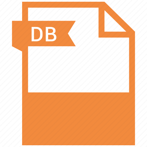db, document, extension, name icon