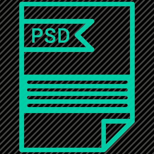 contract, cv, file, psd, resume icon