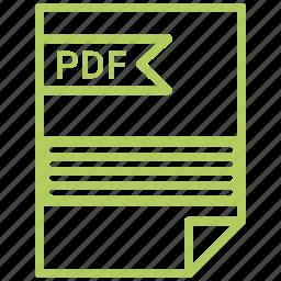 contract, cv, file, pdf, resume icon