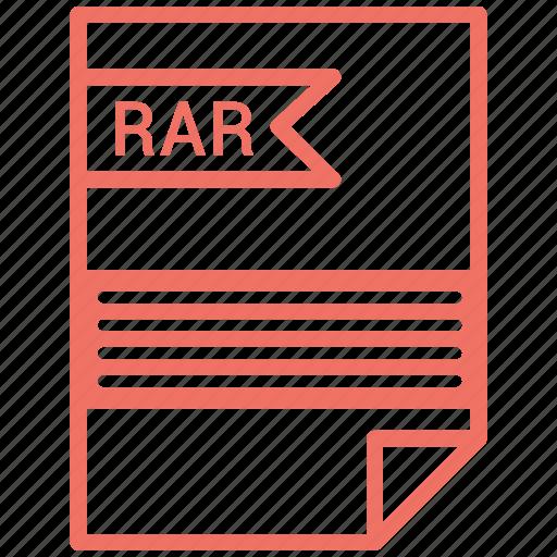 contract, cv, file, rar, resume icon